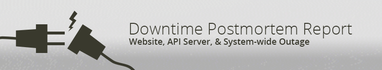 Downtime Postmortem Report: Website, APi Server, & System-wide Outage