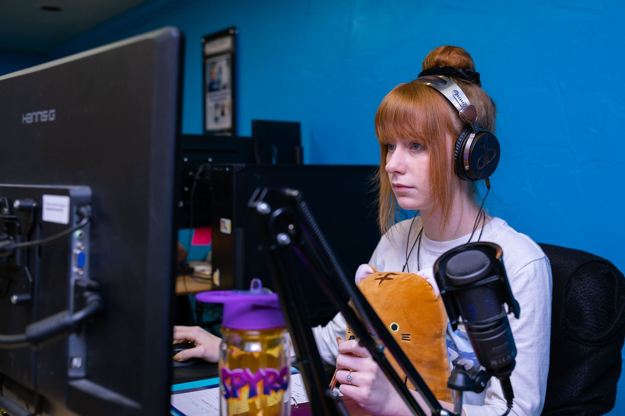 Taylor T at her Nodecraft workstation