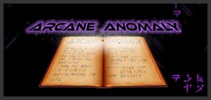 Arcane Anomaly Server Hosting