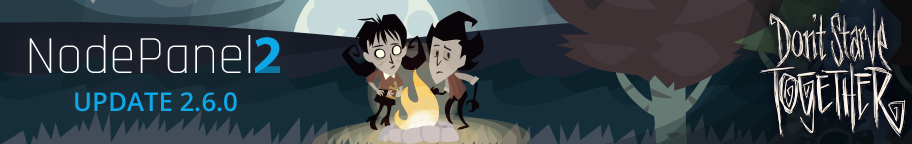 Don't Starve Together - NodePanel Update 2.6.0