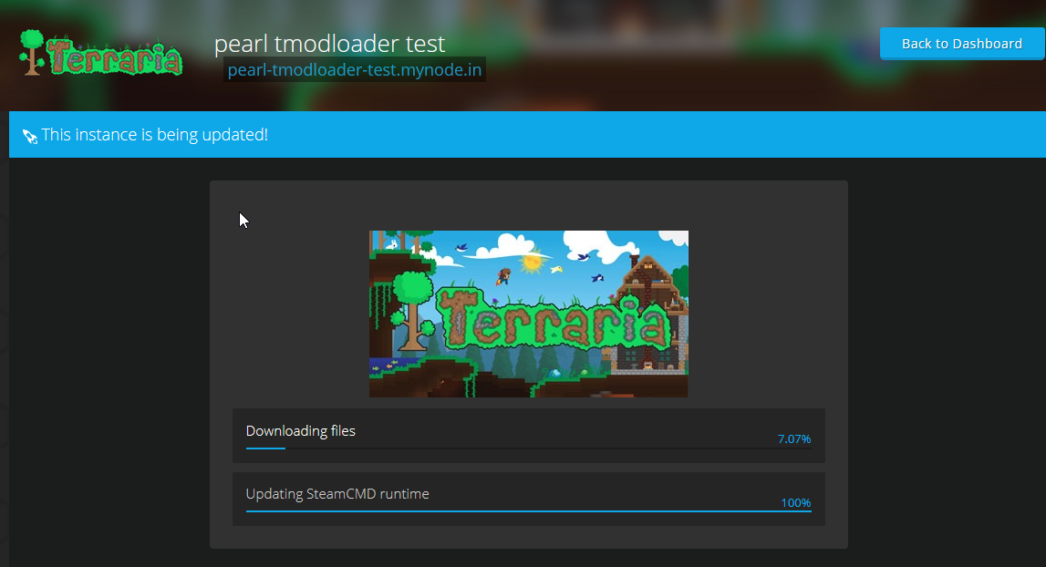 Terraria Steam installation