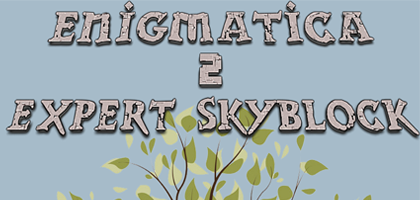 Enigmatica 2 Expert Skyblock Server Hosting
