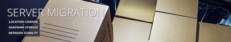 Server Migration: Location change, hardware upgrade, network stability