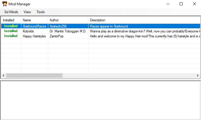 Staxel_Installing_Mods_modmanger_all_installed