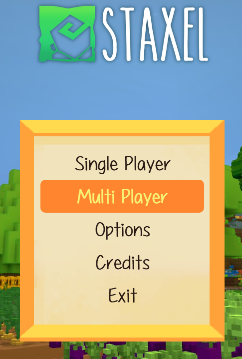 Multiplayer Staxel