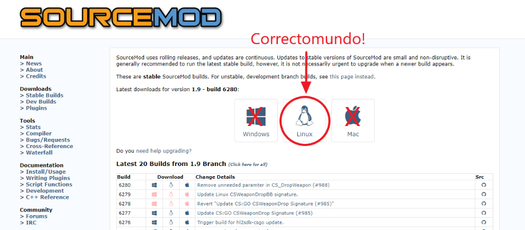 Installing Sourcemod / Metamod on your server | Counter