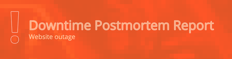 Downtime Postmortem Report: Website Outage