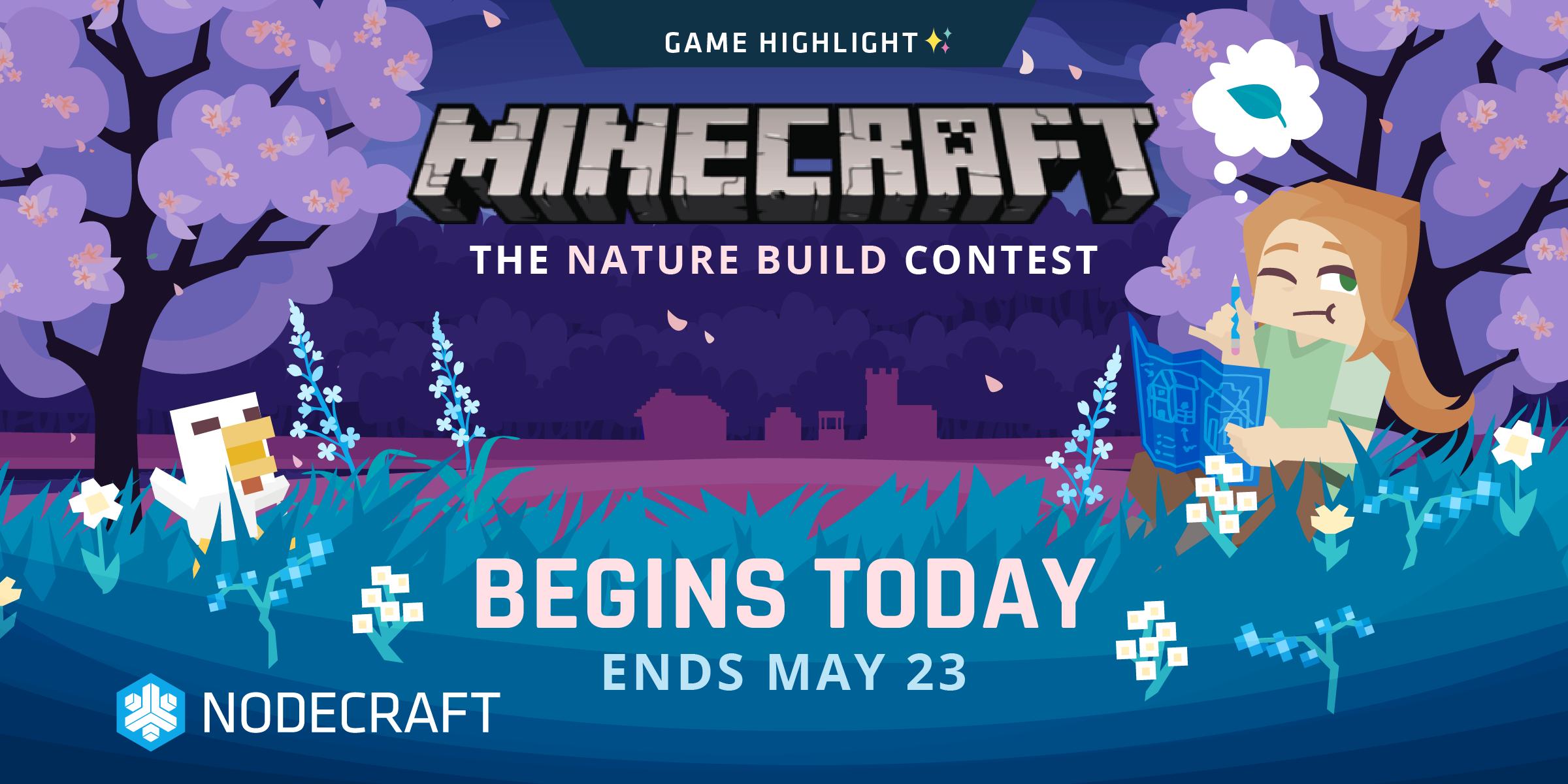 Minecraft: Nature Build Contest - Build Contests - Nodecraft