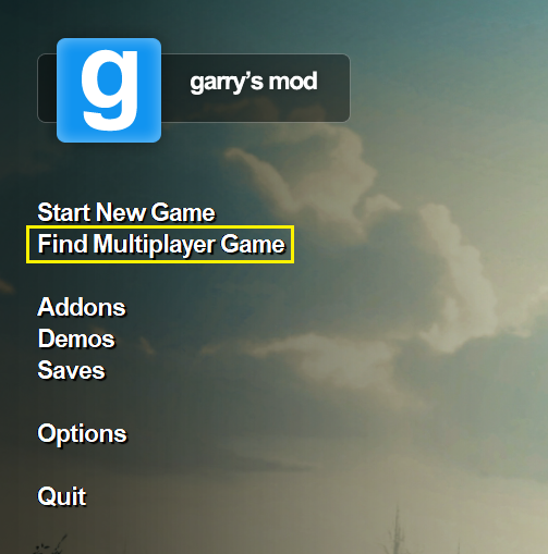 How to Connect to your Garry's Mod Server | Garry's Mod