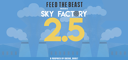 FTB: Sky Factory 2.5 Server Hosting